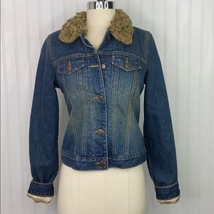 ABERCROMBIE & FITCH: Insulated Jean Jacket